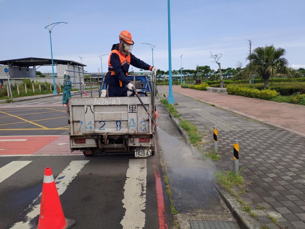 防牛結節疹 環保署動員港口航站全面環境消毒